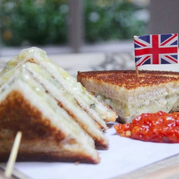 British Grilled Cheese