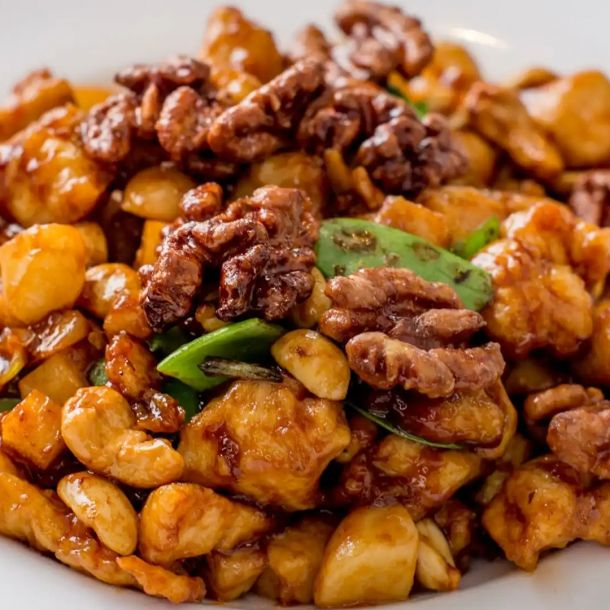 Chicken with 3 Different Nuts