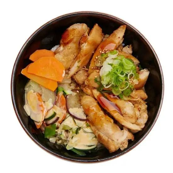 Teriyaki Chicken Donburi