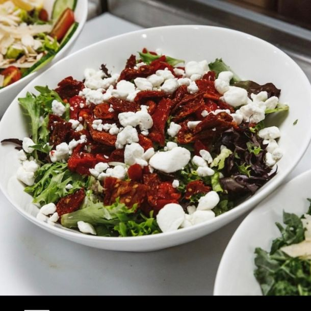 Crumbled Goat Cheese Salad