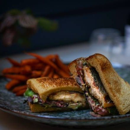 Grilled Saba Sandwich (Available until 3:30 pm only)