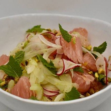 Pomelo & Fennel Salad