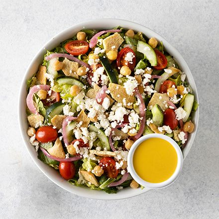 Modern Greek Crunch Salad
