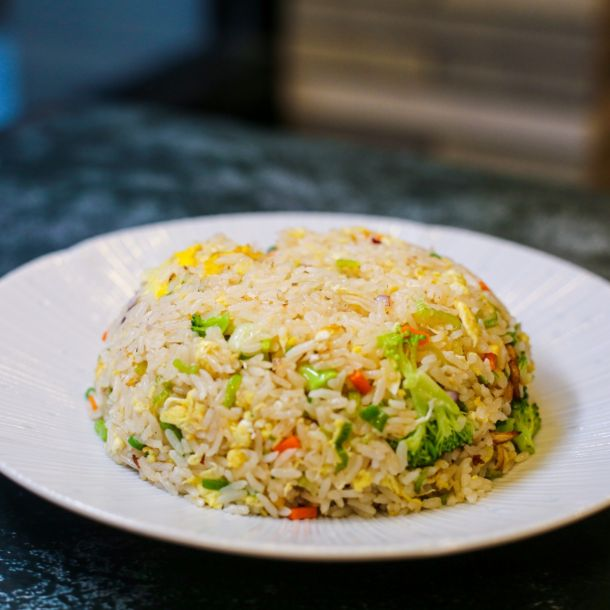 vegetable, fried rice